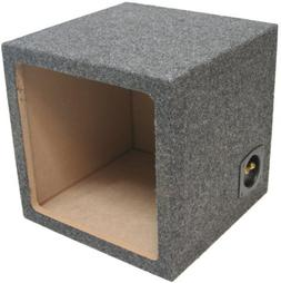 asc single subwoofer kicker square
