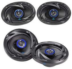 "Autotek ATS693 6x9"" 800 Watt Car Speakers+ ATS653 6.5"" 600"