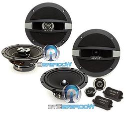 """pkg Focal Auditor R-165S2 6.5"""" 120W RMS 2-Way Component Spea"""