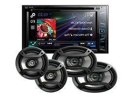 "Pioneer AVH-270BT In Dash Double Din 6.2"" Touchscreen CD DVD"