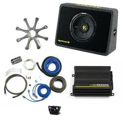Kicker Bass package 10 CompS in ported truck box with CX300.