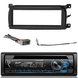 bluetooth dash cd car stereo