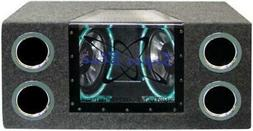 Pyramid BNPS102 10-Inch 1,000-Watt Dual-Bandpass System with