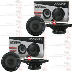 "BRAND NEW 4 x KENWOOD 6.5-INCH 6-1/2"" 2-WAY CAR AUDIO COAXIA"