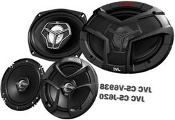"Package In Bulk Box - JVC CS-V9638 6""x9"" 400W 3 Way Coaxial"