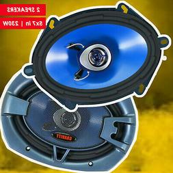 "BRAND NEW BLAUPUNKT 5""x 7"" 4-WAY CAR AUDIO COAXIAL SPEAKERS"