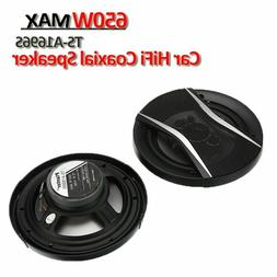 Car Coaxial Speakers 650W Auto Vehicle 2 Voices Electronics