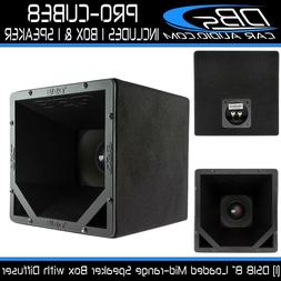 DS18 PRO-CUBE8 Midrange Horn Diffuser Box, Designed on a 10x