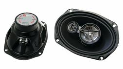 CERWIN VEGA XED693 6 x 9 Inches 350 Watts Max 3-Way Coaxial