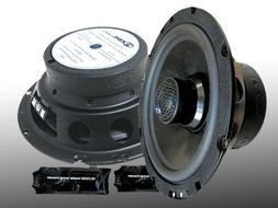 "CL-6CXMB.2 6.5"" CDT Audio 2 Ohm Enhanced Bass Component/Coax"