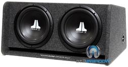 "JL Audio CP212-W0V3 Dual 12"" 12W0v3 Ported Subwoofer Enclosu"