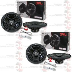 "4 x JVC CS-J620 6.5"" CAR AUDIO 2-WAY FACTORY UPGRADE COAXIAL"