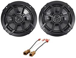 "Kicker CS Front Door 6.5"" Speaker Replacement Kit For 2007-2"