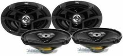 JVC CS-J6930 6x9 1600 Watt 3-Way Car Audio Coaxial Speakers