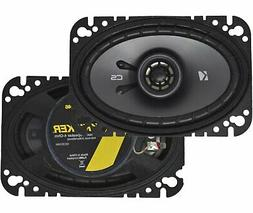 "Kicker CS Series 4x6"" 2-Way 150 Watts Car Speakers - Pair -"