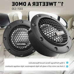 Fit ALPINE DDT-S30 Car Stereo Speakers Soft Dome Balanced Bo