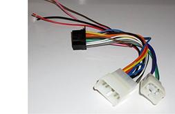 Direct wire harness for Pioneer Headunits