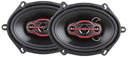 Dual Electronics DLS574 4-Way  or  inch Car Speakers with 16