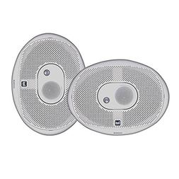 Dual Electronics DMS369 Two 6 x 9 inch 3 Way Marine Speakers