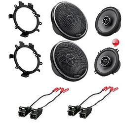 Kenwood Exelon KFC-X134 5-1/4'' 2 Way Car Speakers KFC-X174