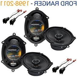 Fits Ford Ranger 1998-2011 Factory Speaker Replacement Harmo