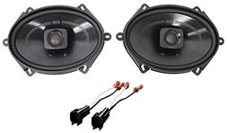 "Polk 5x7"" Front Factory Speaker Replacement Kit For 2004-200"