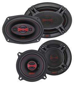 "DS18 GEN-X 6x9"" + 6.5"" Car Audio Door Speakers Combo 660 Wat"