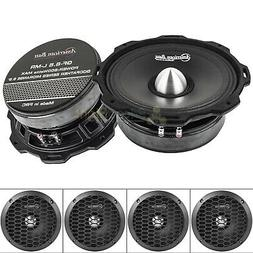 "American Bass GF-6.5 L-MR 6.5"" Midrange Speakers Godfather 6"
