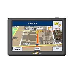 GPS Navigation for Car, Ladies 5 Inch Car GPS Navigation Sys
