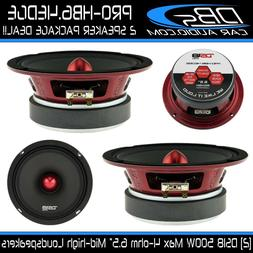"DS18 PRO-HB6.4EDGE Pro Series 6.5"" MID-High 4-Ohms Bullet Lo"