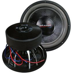"NEW AMERICAN BASS HD12D2 12"" HD SERIES 4000 WATTS MAX POWER"
