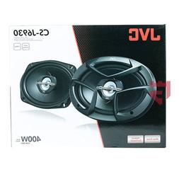 "JVC J Series CS-J6930 6x9"" 400W  3-Way Coaxial Car  Speaker"