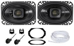 "Polk Audio 4x6"" Waterproof Front Speaker Replacement For 97-"