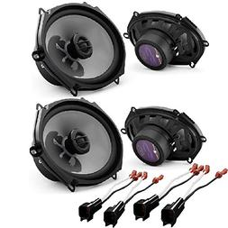 JL Audio C2-570x 5x7 2-Way Car Audio Speakers  W/Metra 72-56