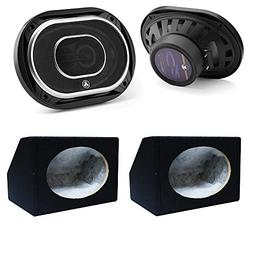 JL Audio 6x9-Inch 3 Way Speakers with Silk Dome Tweeters C2