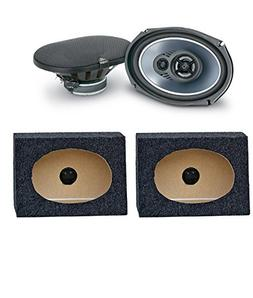 JL Audio TR690 TXI 6x9 3 Way CAR Speakers TR-690 6X9PKB 6 X