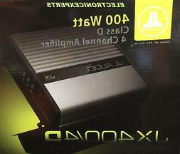 JL AUDIO JX400/4D Car Stereo 4 Channel Amplifier 400W Class