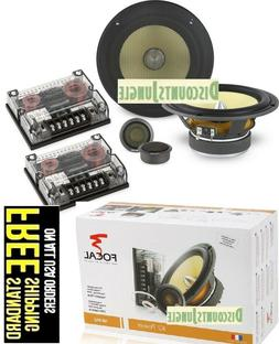 Focal K2 Power 165 KR2 6.5-Inch 2-Way Component Speaker Kit
