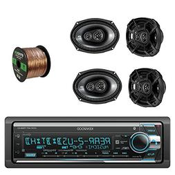 Kenwood 1Din CD/AM/FM Car Audio Receiver with Bluetooth with