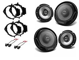 New Kenwood KFC-1665S CAR Truck Front & Rear Door Speakers W