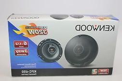 "Kenwood KFC-650 6-1/2"" 3-Way Car Speakers with Polypropylene"