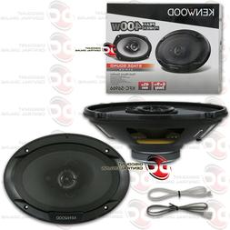 Kenwood KFC-6965S 6 x 9 Inches 3-Way 400W Speakers, Pack of