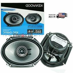 "Kenwood KFC-D681C 6x8"" car audio  Speakers 360 watts replace"