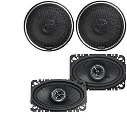 Kenwood KFC-X463C Excelon 4x6 2-Way Speaker System  Kenwood