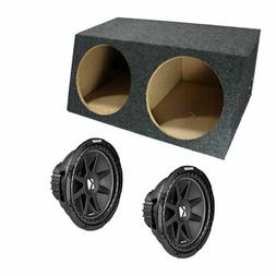 kicker dual comp c12 12 inch sealed