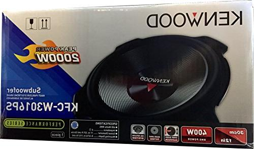 "2) NEW Kenwood 12"" Car Audio Subwoofers Woofers 4 Ohm"