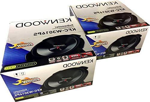"2) 12"" Car Audio Subwoofers Subs 4"