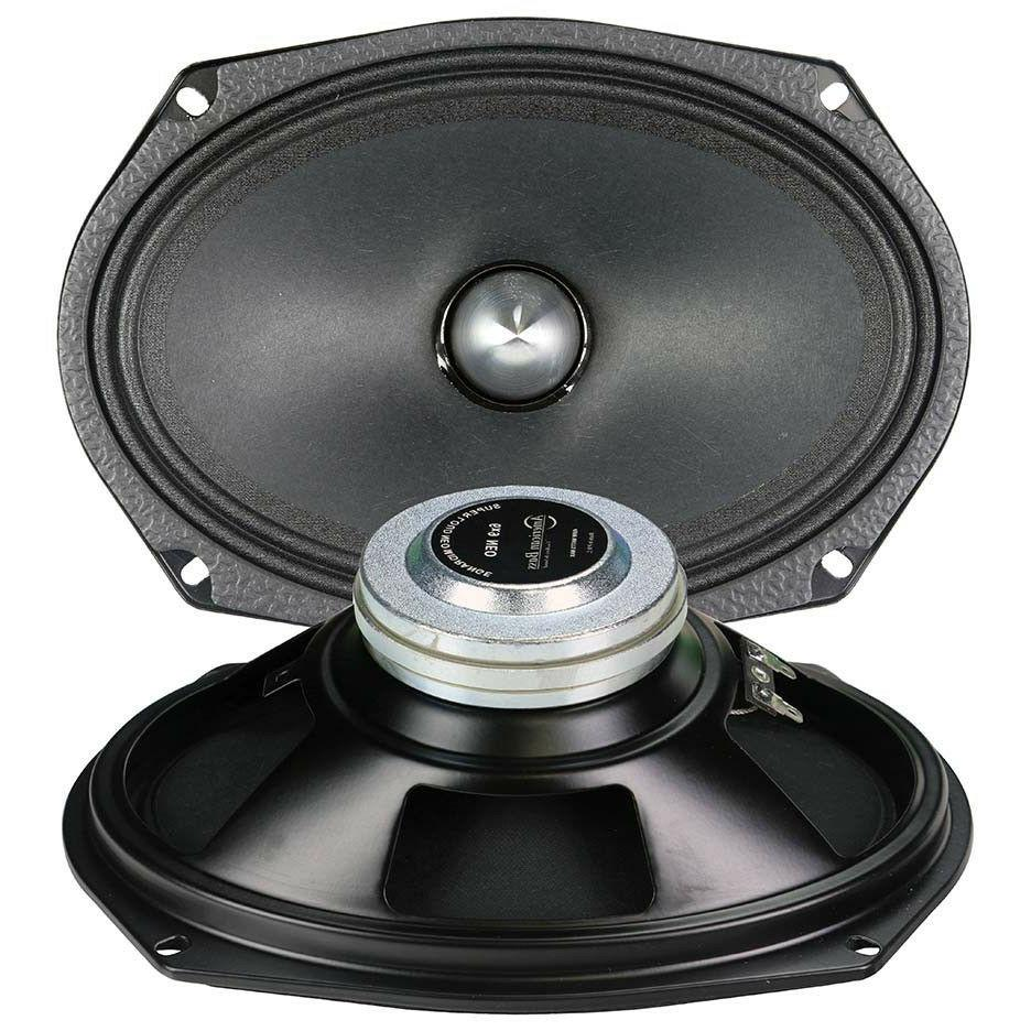 2 American 6.9 Speaker 900W Audio Mid Pair