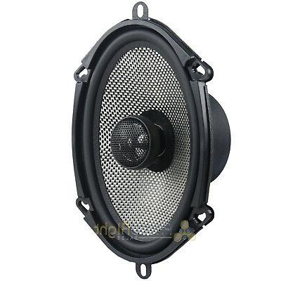 """2 Bass 6x8"""" Car Stereo Speakers 150W"""