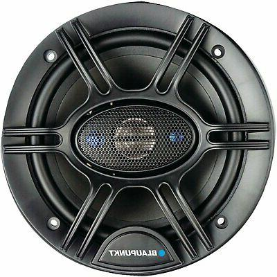 """2 PAIRS - BLAUPUNKT 6.5"""" 720W COAXIAL SPEAKERS"""